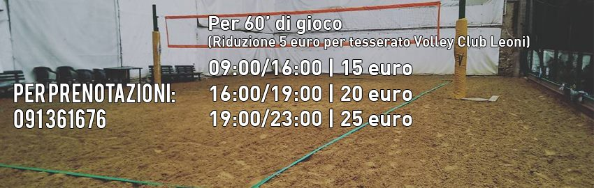 #vcl #sandvolley #affitto