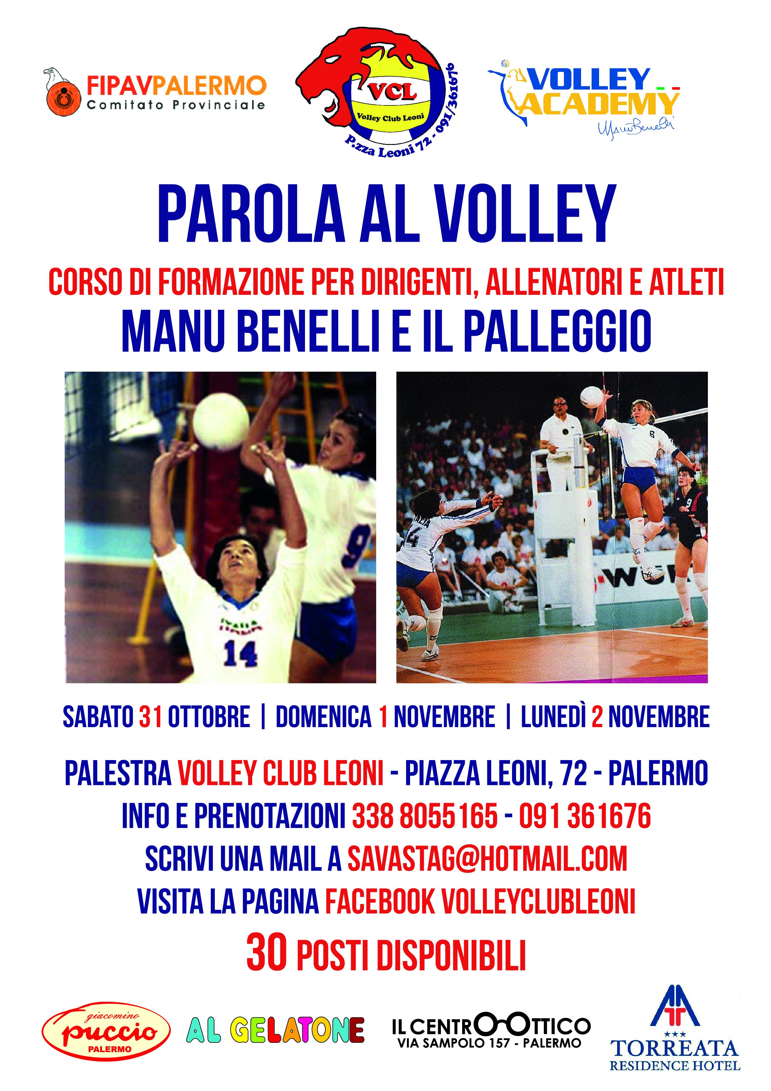 PAROLA AL VOLLEY | Tutti a scuola da Manu Benelli