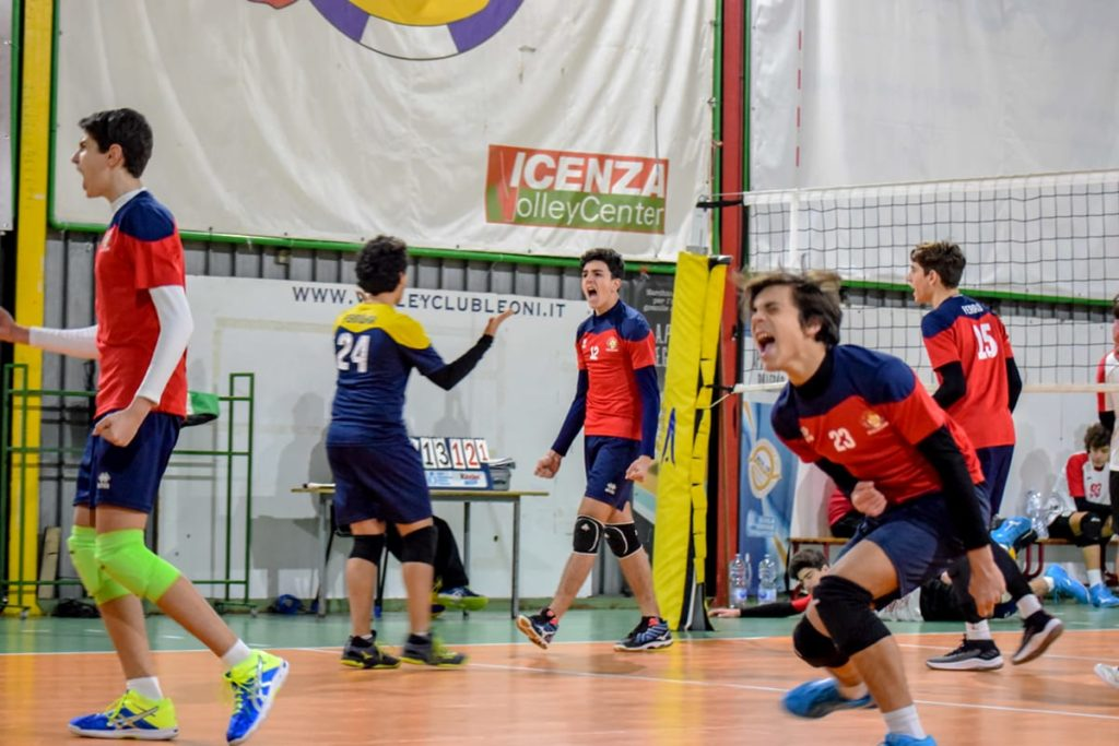 Under 16 maschile Volley Club Leoni