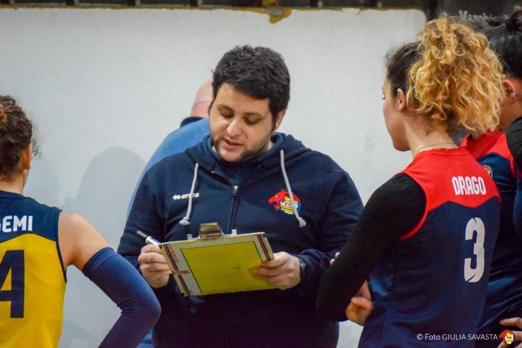 Maurilio Anfuso coach della serie c femminile