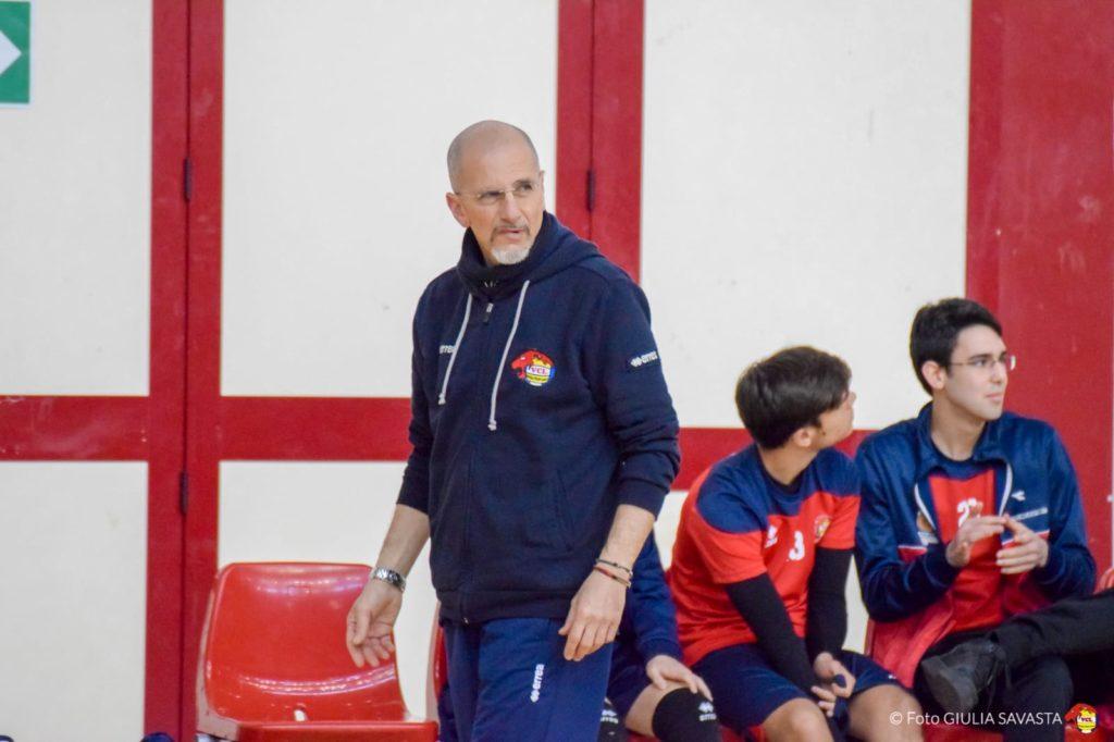 Pippo Gennaro allenatore Under 16 maschile del Volley Club Leoni