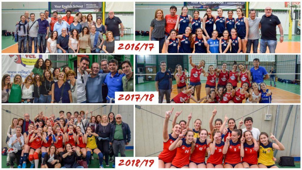 3 promozioni in 3 anni per la squadra di Lillo Mariolo