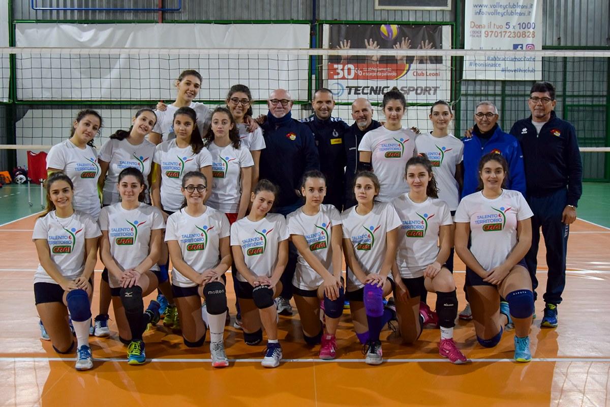 squadra femminile di pallavolo