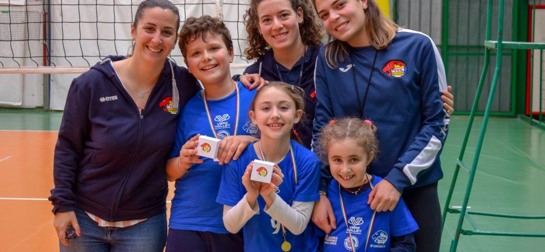 bambini del volley club leoni